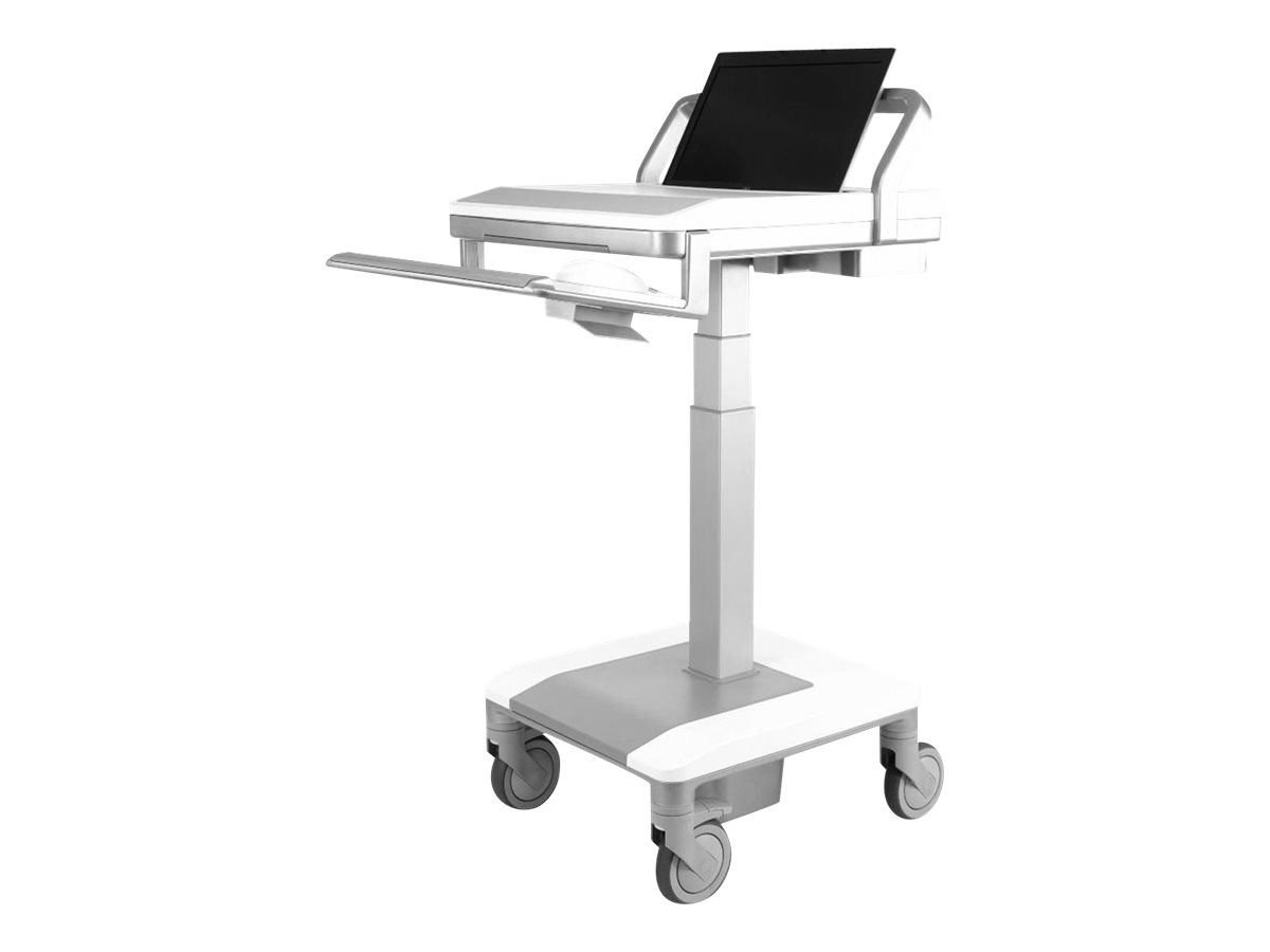 Humanscale TouchPoint T7 Non-Powered 250N Cylinder Laptop Gantry and PC Surface - cart
