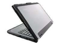 Gumdrop Drop Tech Notebook top and rear cover black, transparent
