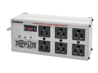 Tripp Lite Isobar Surge Protector Metal 6 Outlet 6FEET Cord 3330 Joules Surge protector AC 120 V