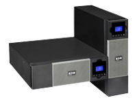 Eaton 5PX 3000 3U Rack/Tower LCD - UPS (rack-mountable / external) - 2700 Watt - 3000 VA - RS-232, USB - output connectors: 9 - 3U - black