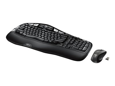 Logitech Wireless Wave Combo MK550 Keyboard and mouse set wireless 2.4 GHz English