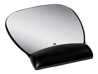 3M Precise - Mouse pad with wrist pillow - black