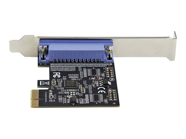 StarTech.com 1-Port Parallel PCIe Card, PCI Express to Parallel DB25 LPT Adapter Card, Desktop Expansion Controller for Printer, SPP/ECP