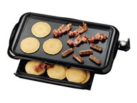 Brentwood TS-840 Griddle electrical 76 sq.in built-in thermometer black