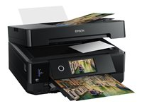 Epson Expression Premium XP-7100 Small-in-One - Imprimante multifonctions - couleur - jet d'encre - Legal (216 x 356 mm) (original) - A4/Legal (support) - jusqu'à 11 ppm (copie) - jusqu'à 32 ppm (impression) - 120 feuilles - USB 2.0, Gigabit LAN, Wi-Fi(n) - noir