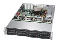 Supermicro SuperStorage Server 5028R-E1CR12L Server rack-mountable 2U 1-way RAM 0 GB