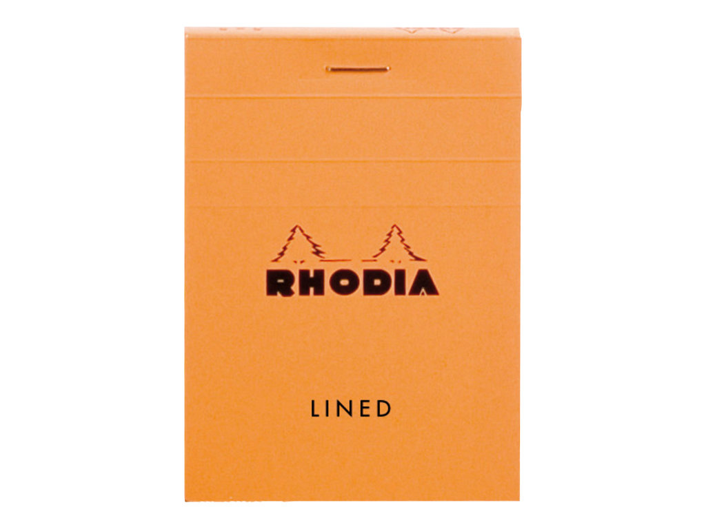 RHODIA CLASSIC SMALL OFFICE - Bloc notes - A7 -  80 pages - quadrillé - 5x5