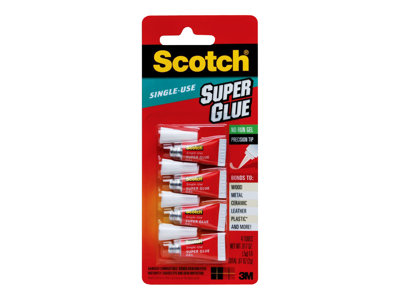 Scotch Glue (instant adhesive) 0 oz (pack of 4)