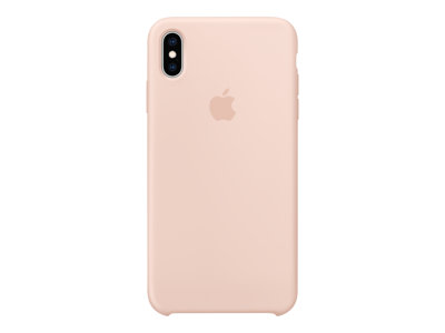 Apple - Back cover for cell phone - silicone - pink sand