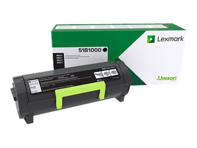 Lexmark MX317 Black original toner cartridge LCCP, LRP