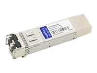 AddOn - SFP+ transceiver module (equivalent to: Alcatel-Lucent Nokia 3HE11023AA) - 10 GigE - 10GBase-SR