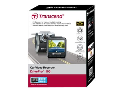 Transcend DrivePro 100 - dashboard camera