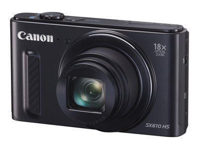 Canon PowerShot SX610 HS Digital camera compact 20.2 MP 1080p 18x optical zoom