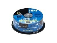 Intenso - 25 x DVD+R DL - 8.5 GB 8x - Spindel