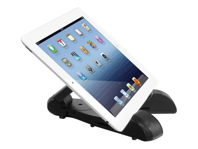 Aluratek Bluetooth Wireless Speaker Tablet Stand ATBS01F