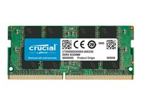Crucial DDR4  8GB 2400MHz CL17  Ikke-ECC SO-DIMM  260-PIN