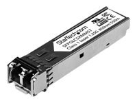 StarTech.com Cisco Compatible Gigabit Fiber SFP Transceiver Module MM LC - 550m (Mini-GBIC) - SFP (mini-GBIC) transceiver module - Gigabit Ethernet - 1000Base-SX - LC multi-mode - up to 550 m - 850 nm - for P/N: PEX1000SFP2