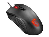 MSI Clutch GM10 Gaming Mouse right-handed optical 4 buttons wired USB black