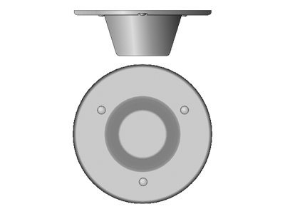 Cisco Multiband In-Building Omnidirectional Ceiling-Mount Antenna - antenna