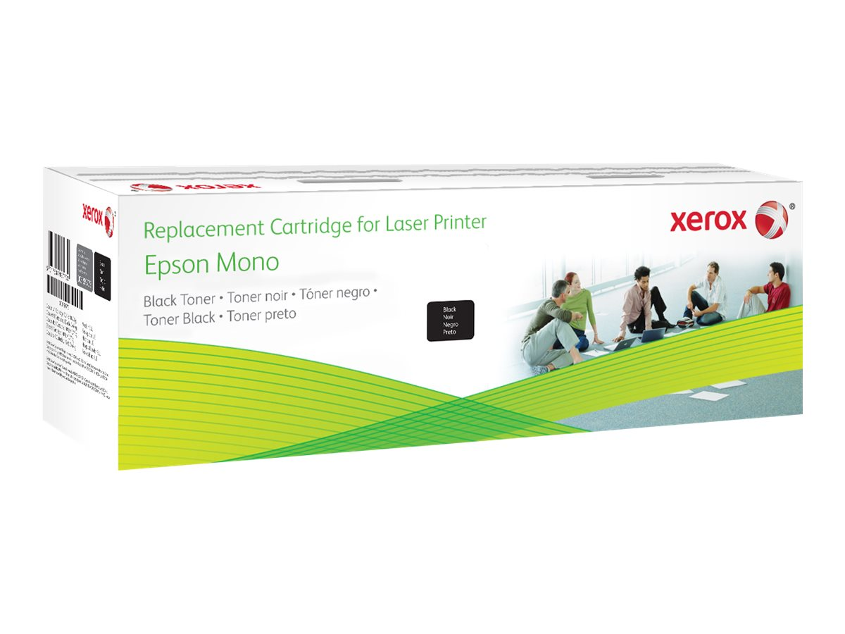Xerox - black - original - toner cartridge (alternative for: Epson C13S050582, Epson C13S050584)