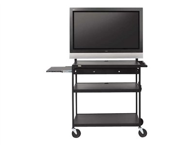 Bretford Basics Flat Panel Multimedia Cart FP60UL-E5BK Cart for monitor steel black powder