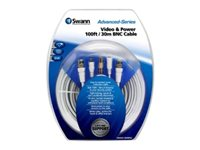 Swann Advanced-Series Power/video cable kit double shielded