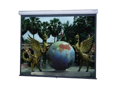 Da-Lite Model C with CSR Wide Format Projection screen ceiling mountable, wall mountable