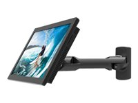 Compulocks Swing Arm Samsung TouchScreen Wall Mount Black - Mounting kit (swing arm) for tablet
