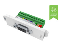 Picture of VISION TechConnect 3 VGA female module - modular facility plate snap-in (TC3 VGAF)