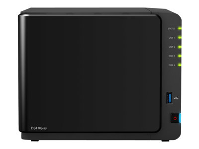 Disk Station DS416Play - server NAS - 12 TB