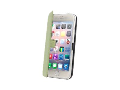 Muvit Made in Paris Slim Folio - Protection à rabat pour iPhone 6 - vert