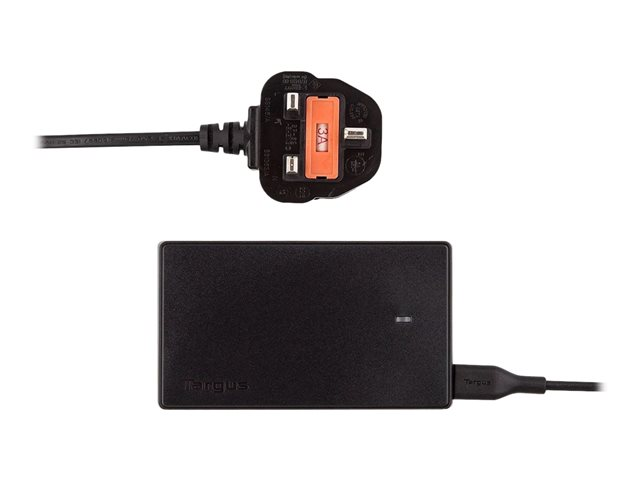Image of Targus Compact Laptop & USB Tablet Charger - power adapter - 90 Watt