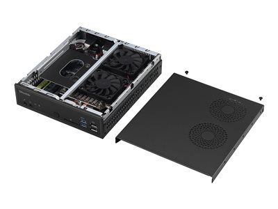 Shuttle XPC slim DH110SE Barebone Slim-PC LGA1151 Socket Intel H110 Express GigE