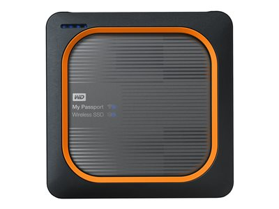 WD My Passport Wireless SSD WDBAMJ2500AGY Wireless mobile storage 250 GB SSD 250 GB x 1