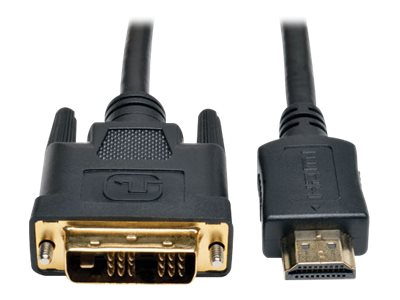 Tripp Lite 3ft HDMI to DVI-D Digital Monitor Adapter Video Converter Cable 1080p M/M 3'
