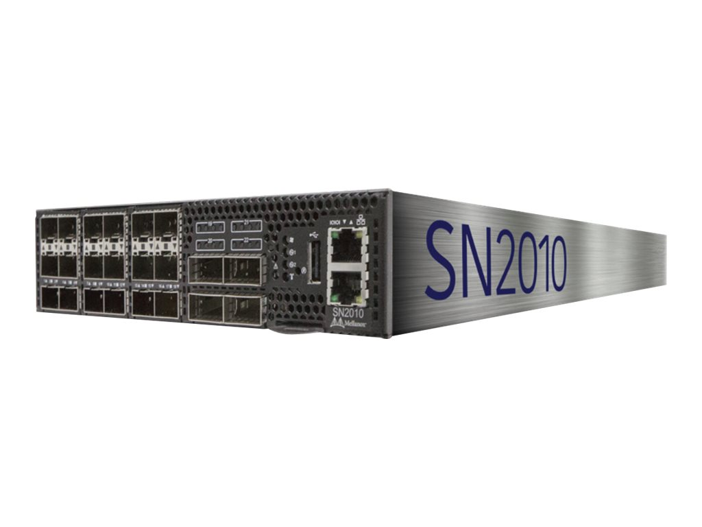 Mellanox Spectrum SN2010 - switch - 22 ports - managed - rack-mountable
