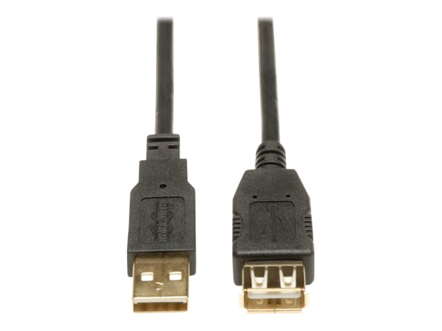Tripp Lite 6ft USB 2.0 Hi-Speed Extension Cable Shielded A Male / Female 6' - USB extension cable - 1.83 m