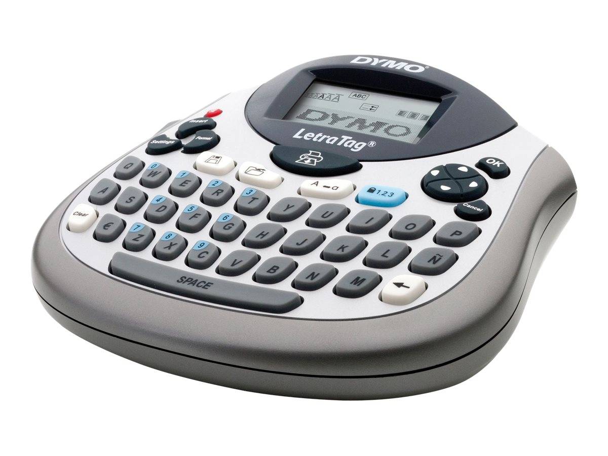 DYMO LetraTag LT-100T - labelmaker - B/W - direct thermal
