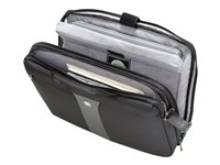 Wenger Legacy 17INCH Laptop Slimcase Notebook sleeve 17INCH black/gray