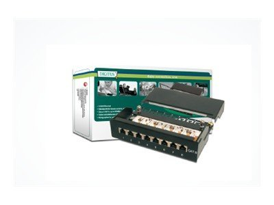 DIGITUS DN-91608SD - Patch Panel - 1U - 8 Ports