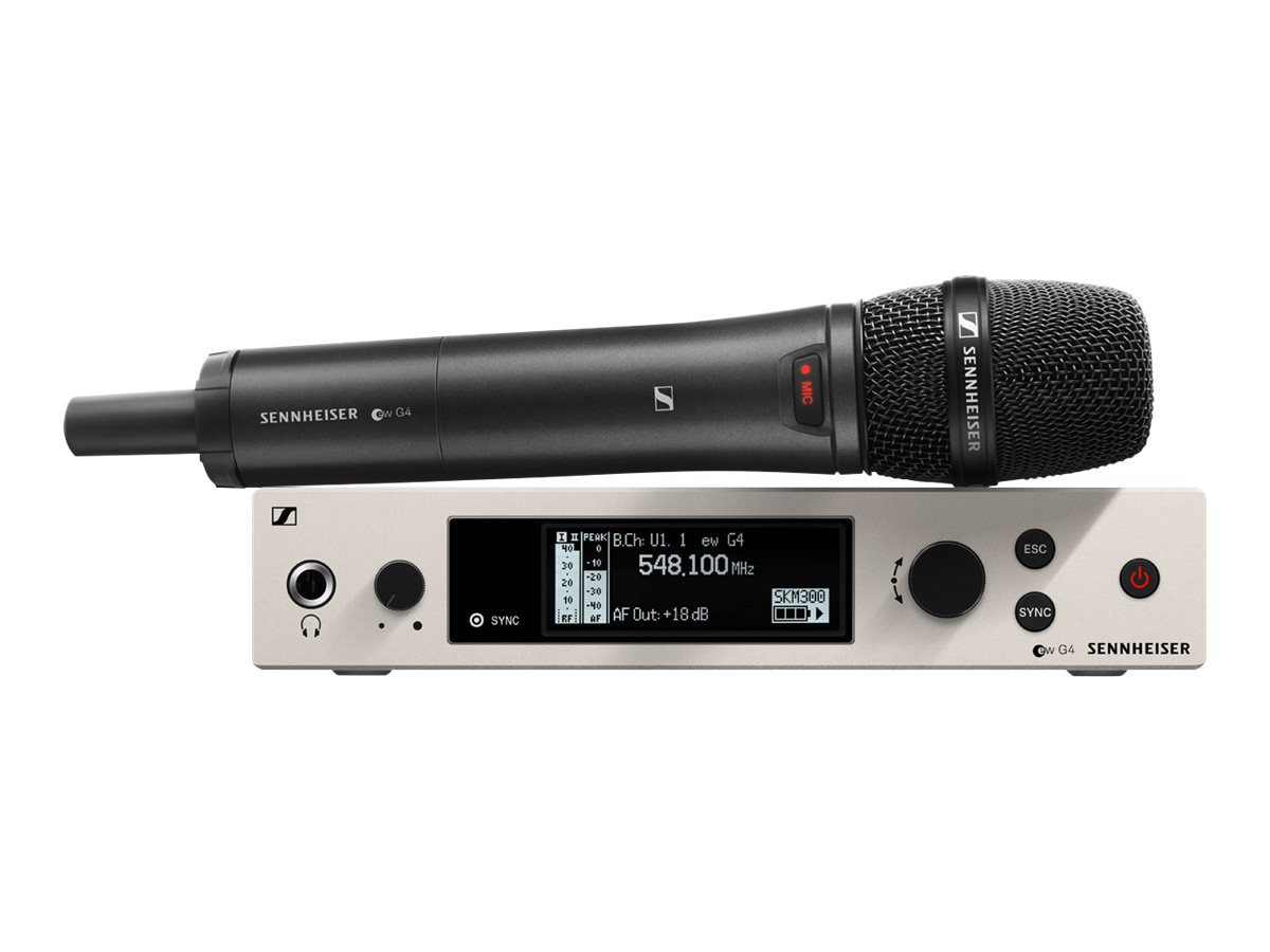 Sennheiser EW 300 G4-865-S-AW+ - Assembled in USA - Handheld Set - wireless microphone system