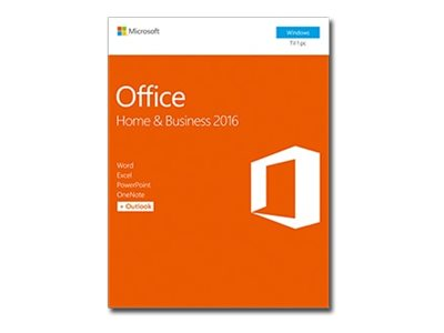 Microsoft Office Home and Business 2016 Bokspakke 1 PC Windows