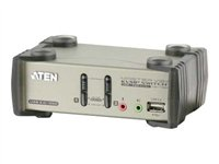 Aten 2-Port USB 2.0 KVMP Switch with OSD