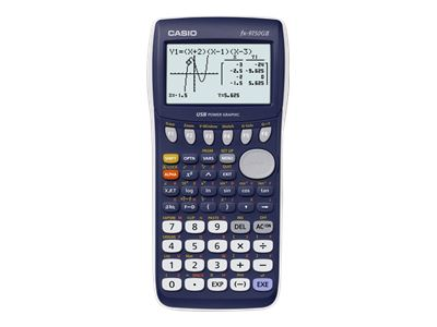 Casio FX-9750GII - Graphing calculator - USB - battery