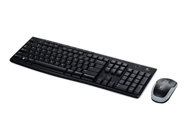 Logitech Wireless Combo MK270 - Tastatur-und-Maus-Set - drahtlos - 2.4 GHz - Deutsch