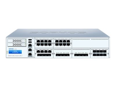 Sophos XG 650 Rev 2 security appliance with 3 years EnterpriseProtect 8 ports GigE 2U