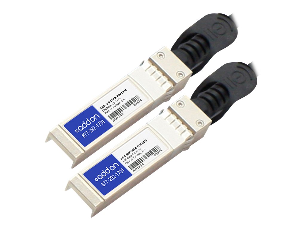 AddOn HP to Arista Dual OEM Direct Attach - direct attach cable - 3 m