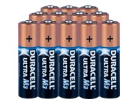 Duracell Ultra M3 - Battery 12 x AA Alkaline