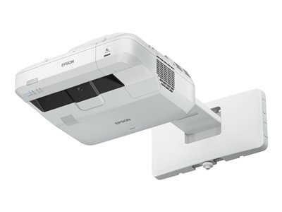 Epson EB-700U - 3LCD projector - 4000 lumens (white) - 4000 lumens (colour) - WUXGA (1920 x 1200) - 16:10 - 1080p - ultra short-throw lens - LAN