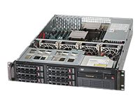 Supermicro SuperServer 6028R-T Server rack-mountable 2U 2-way RAM 0 GB SATA